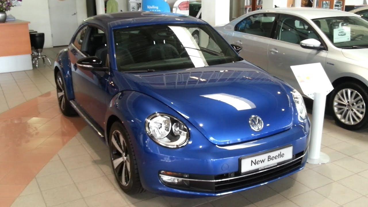 volkswagen beetle sport   depth review interior exterior youtube