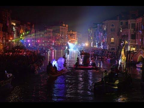 Carnevale di Venezia 2018 - La Festa Veneziana sull'acqua (Parte Prima) - Venice carnival 2018