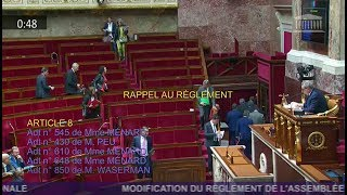 Assemblée sous tension ! Tous les députés des oppositions quittent l'hémicyle !