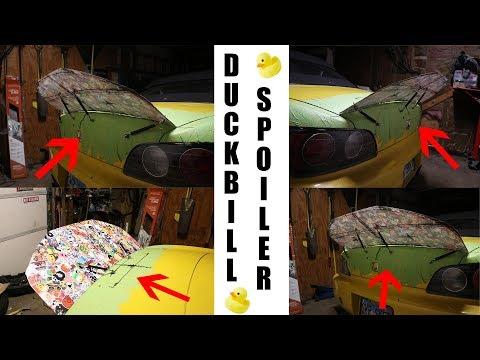 DIY Duckbill spoiler