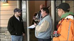 KATU goes undercover with CCB for Locksmith Sting Operation in East Portland, Oregon