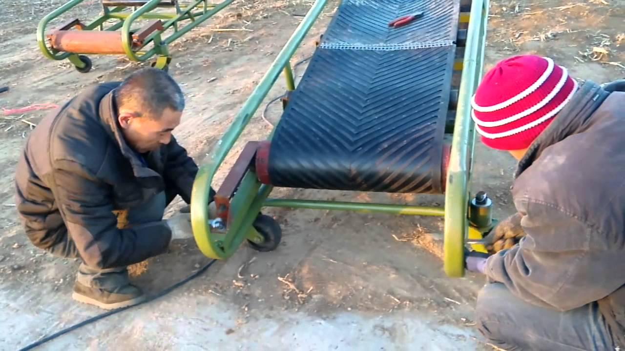 Grain Conveyor Installation Tutorial