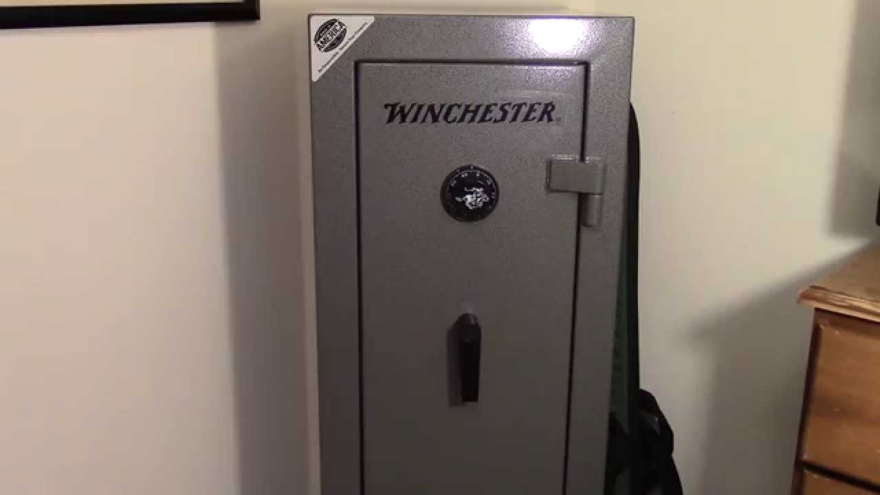 Winchester Bandit 10 Gun Safe Youtube