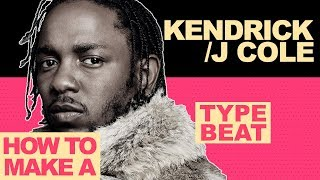 HOW TO MAKE A KENDRICK LAMAR / J COLE TYPE BEAT | Making a Kendrick / JCole Type Beat In FL Studio