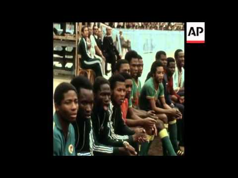 SYND 15-3-74  ZAIRE WINS AFRICAN CUP OF NATIONS  IN CAIRO