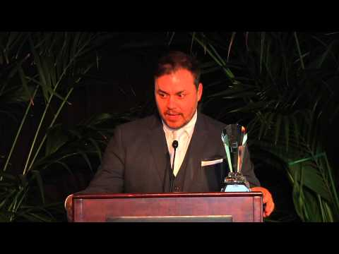 Theodore Ted Melfi, writerdirectorproducer, accepts the award for