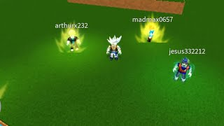 ROBLOX-Dragon Ball rage, all the transformations of the first Zenkai, on Android