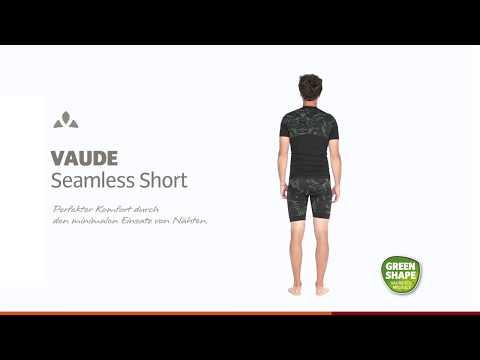 VAUDE Herren Hose Mens Sqlab Bib Lesseam Shorts