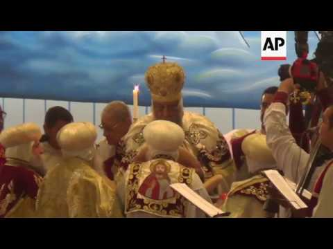 Coptic Christians celebrate Christmas in Cairo