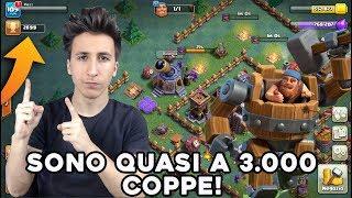 QUASI 3.000 COPPE in LIVE! MACCHINA da GUERRA ESSENZIALE! | Nuovo Villaggio | Clash of Clans ITA
