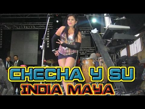 Checha y su India Maya Feria de Chivarreto 17 de Enero 2017