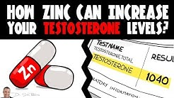 How Zinc Can Increase Your Testosterone Levels? - by Dr Sam Robbins