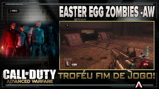 CALL OF DUTY - Easter egg Fim de jogo - Zombies - Aw - Troféu Game over, man!