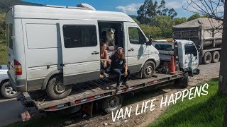 The End of The Road?   Van Life Colombia