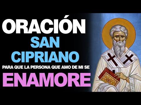 🙏 Oración de San Cipriano para el amor y que la persona se enamore de mí ❤️