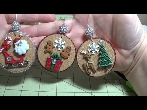 DIY~Gorgeous Rustic Story Ornaments For Your Christmas Tree!