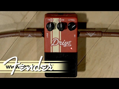 Fender Competition Series Drive Pedal Demo
