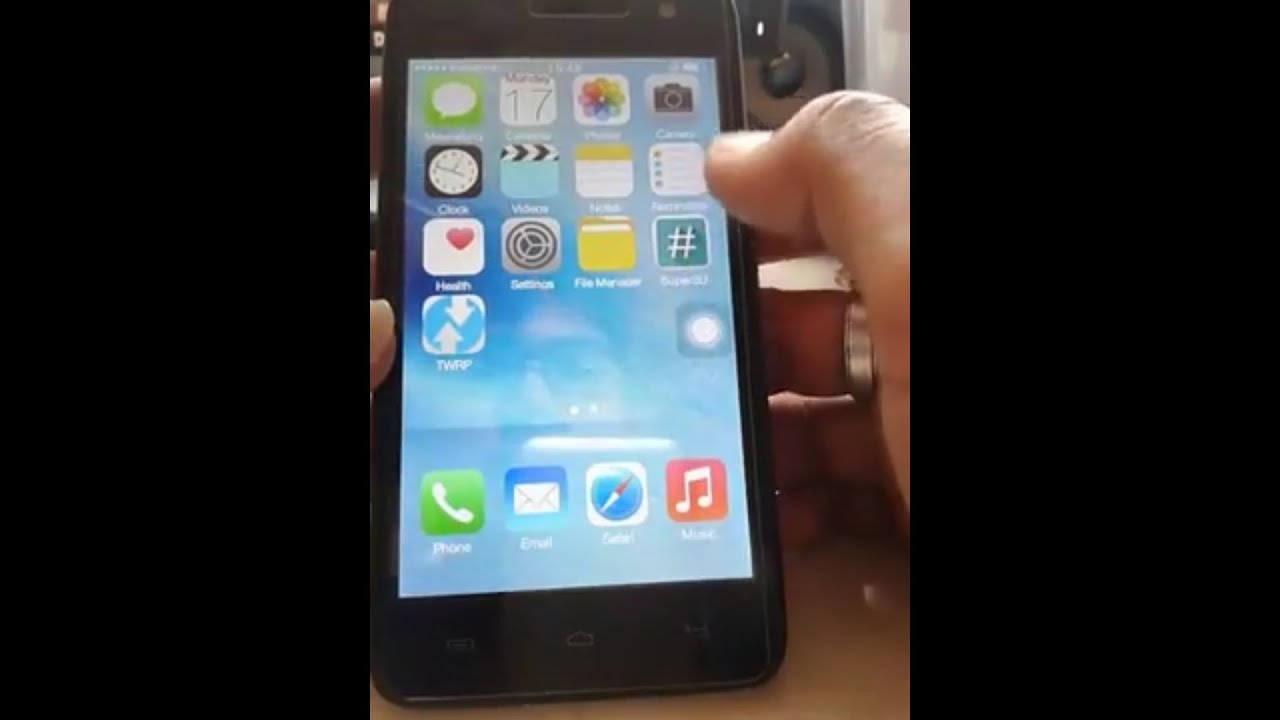 Ios 9 1 in micromax unite 2 by pAtil Tech World
