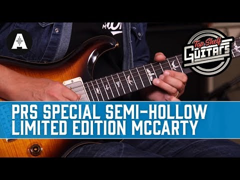 Top Shelf Guitars - PRS Special Semi-Hollow Limited Edition McCarty in Tobacco Sunburst