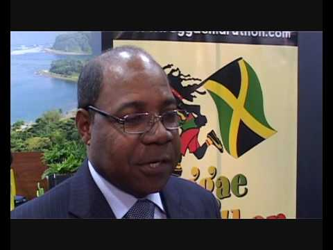 Jamaica's Minister of Tourism, Edmund Bartlett @ ITB 2009