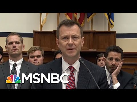 What Happened At The FBI Agent Peter Strzok Hearing | All In | MSNBC