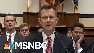 What Happened At The FBI Agent Peter Strzok Hearing | All In | MSNBC thumbnail