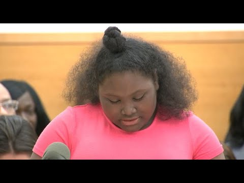 WEB EXTRA: Mikayla Capers Speaks At Sentencing For Daniel St. Hubert
