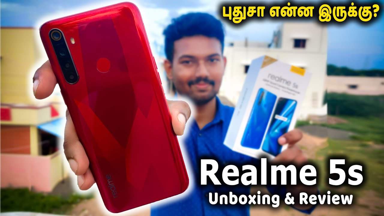 Download Rs.9999 அசத்தலான ஒரு போன்   Realme 5s Unboxing & Review in Tamil
