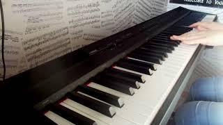 Музыка из м/ф ''Падал прошлогодний  снег'' (PIANO COVER)