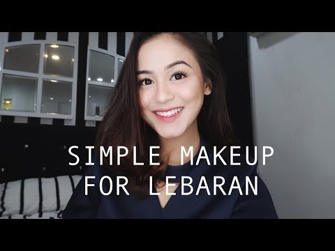 Simple Makeup For Lebaran + TIPS BULUMATA MANJYAH || Caca Zeta