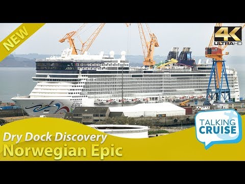 Dry Dock Discovery – Norwegian Epic Cruise Ship