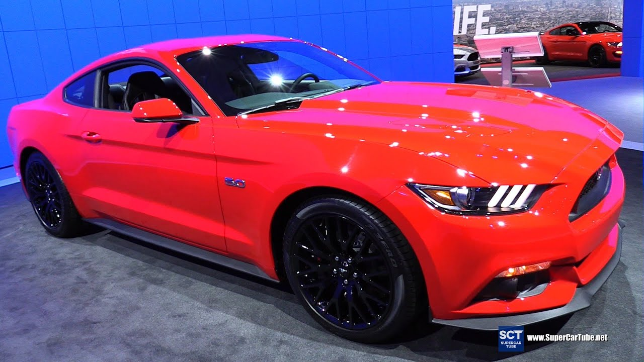 2016 Ford Mustang Gt 5 0l Coupe Premium Exterior And