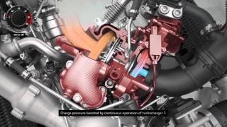 Un V8 diesel biturbo Audi boosté par un compresseur à entraînement électrique