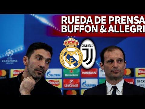 Real Madrid - Juventus | Rueda de prensa de Buffon y Allegri | Diario AS