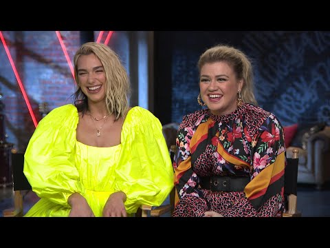 The Voice: Kelly Clarkson and Dua Lipa Talk Collaborating in New Season   Full Interview