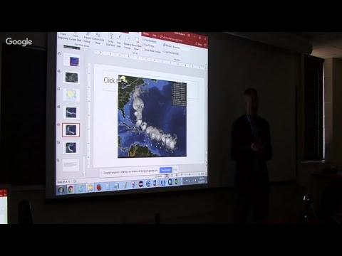 Shane Hubbard Seminar: Puerto Rico post-Maria Conditions & Disaster Response