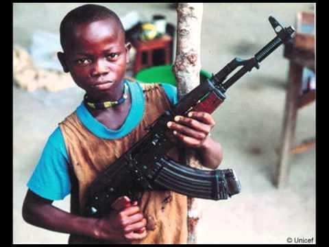 Child Soldier Liberia Eric, John, Yash, and Jacob