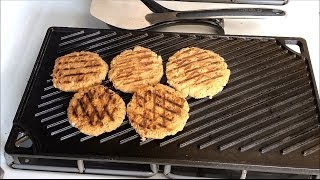 Salmon Patties From Canned Salmon On The Lodge Cast Iron Girddle