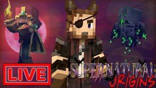 Minecraft Supernatural Origins #13.5 (Live Modded Survival)