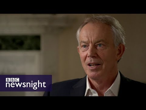 Tony Blair: 'Jeremy Corbyn could become PM' - BBC Newsnight