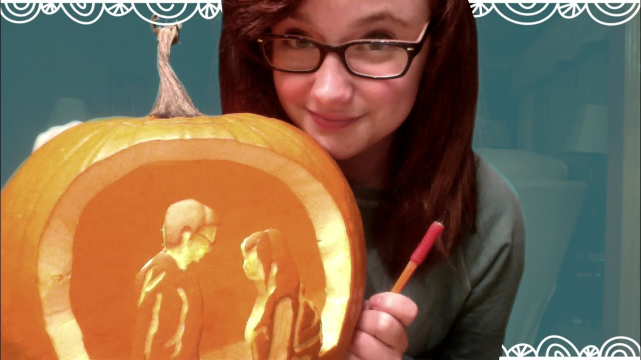 Diy pumpkin carving tool youtube