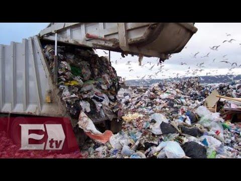 Largas filas en vertederos de basura de la Ciudad de México / Kimberly Armengol
