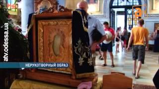 Необычная святыня в Свято-Ильинском монастыре(Церковный календарик превратился в чудотворную икону. Необычную святыню сейчас привезли в Одесский Свято-..., 2013-08-22T17:30:26.000Z)