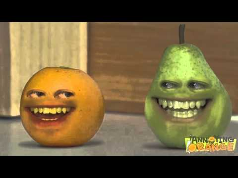 Annoying Orange has a Sparta Remix