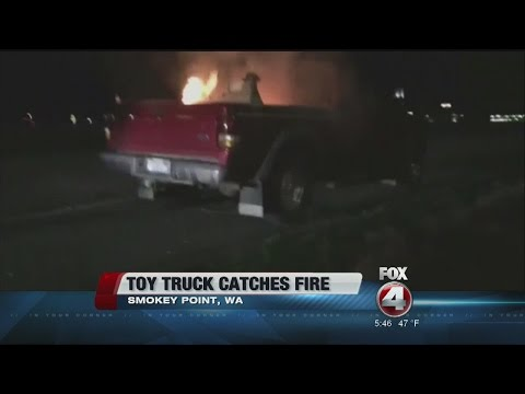 Toys R US Toy Truck Recall After Fire