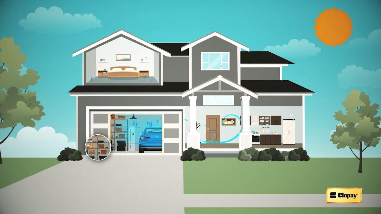 The Benefits Of Garage Door Insulation Clopay Garage Doors Youtube
