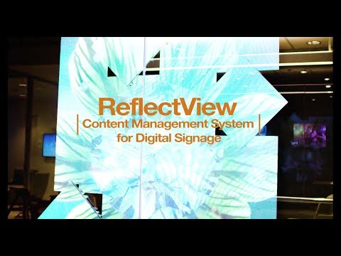 Digital Signage Content Management System -  ReflectView