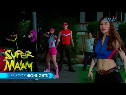 Super Ma'am: Full-force super heroes