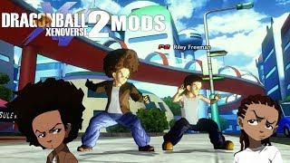 THE FREEMAN BROTHERS TRAIN WITH THE SAIYANS?! Dragon Ball Xenoverse 2 Mods