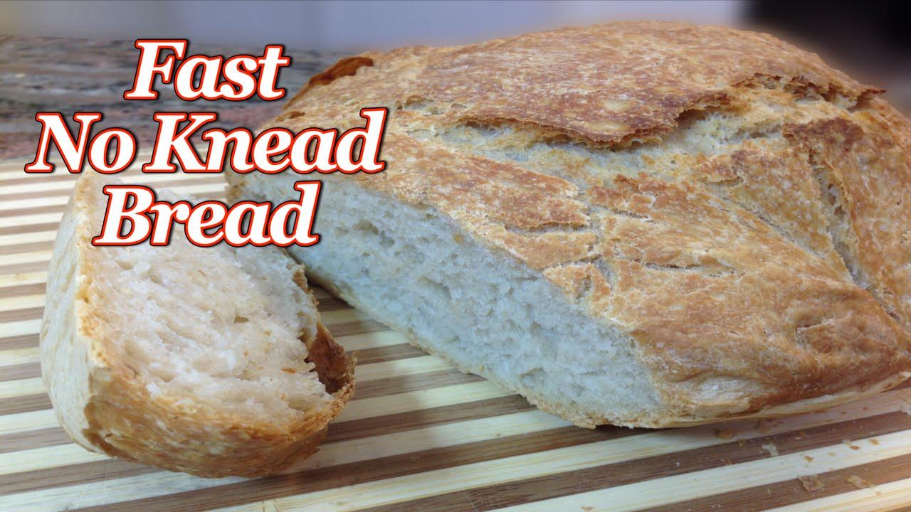Fast No Knead Bread - YouTube